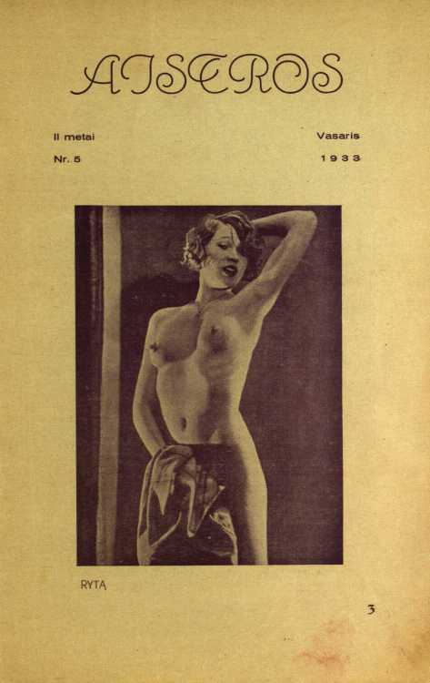 2. aistros 1933 nr5 p3