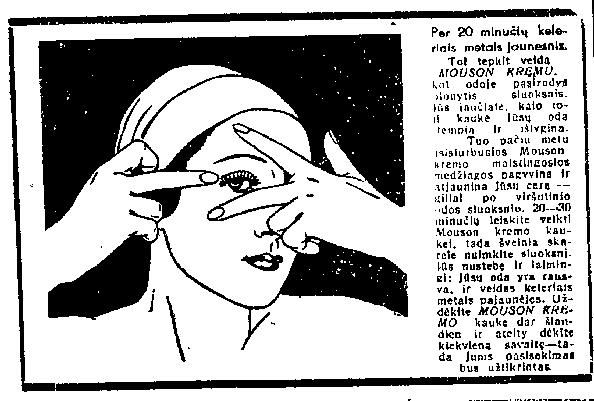 3. kremo mouson reklama