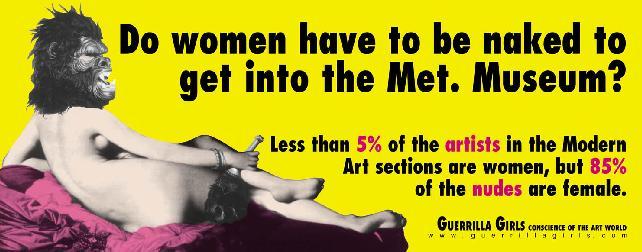 Guerrilla Girls plakatas