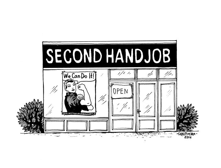 second hand job